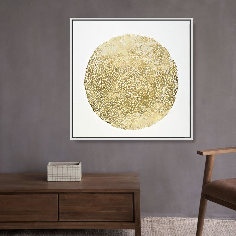 Abstract Gold Luxury Posters Nordic Canvas Art Painting Home Decor Wall Art Retro Print Living Room Vintage Minimalist Picture