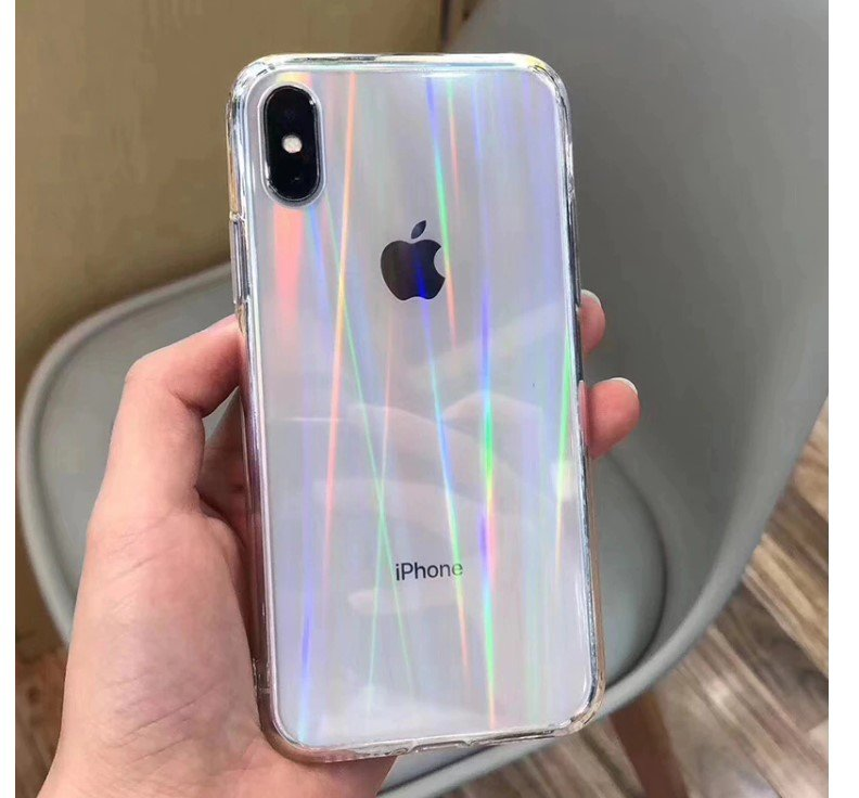 Holographic Transparent Case for iPhone